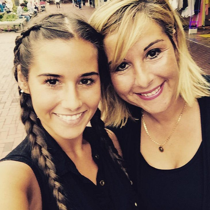 Sarah Lombardi verbringt den Tag mit ihrer Mutter