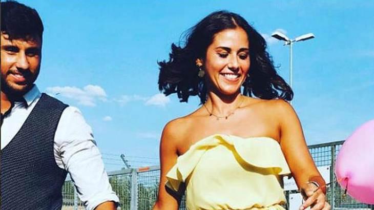 Sarah Lombardi und Roberto Ostuni
