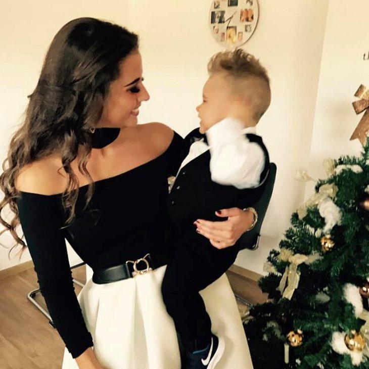 Sarah Lombardi feiert mit Alessio