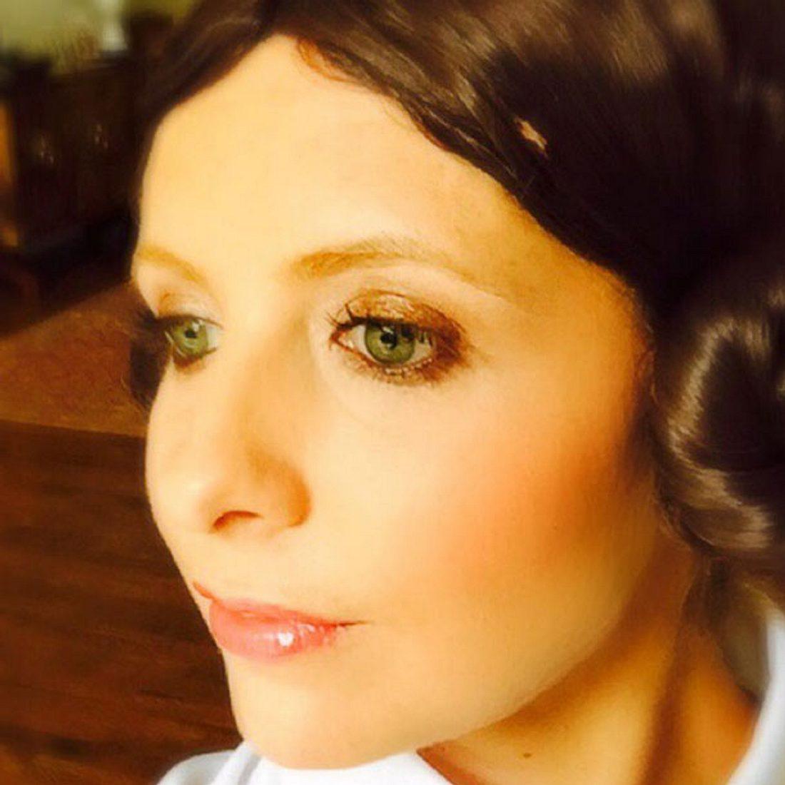 Sarah Michelle Gellar im Star Wars Look