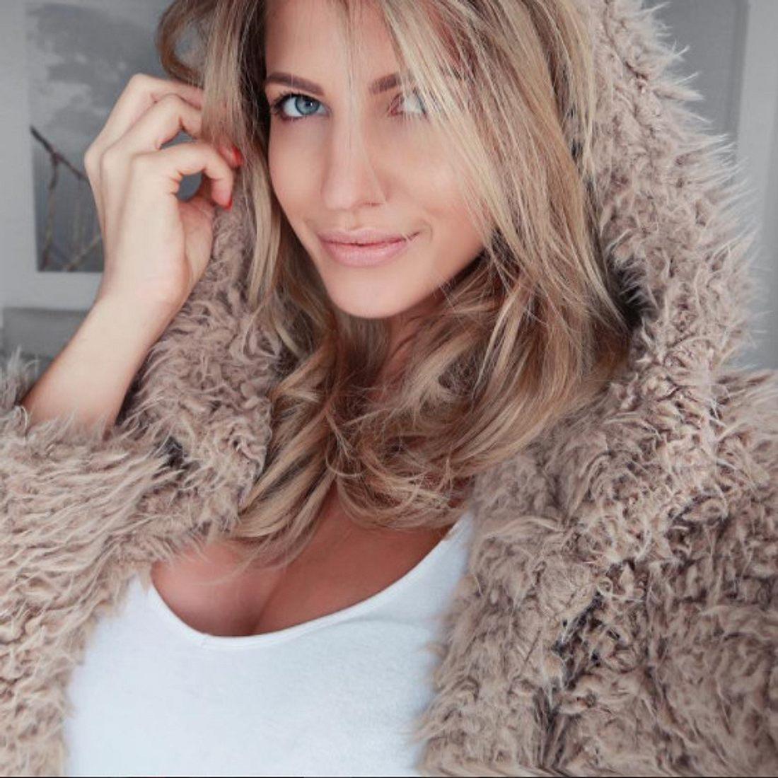 Sarah Nowak ist jetzt brünett