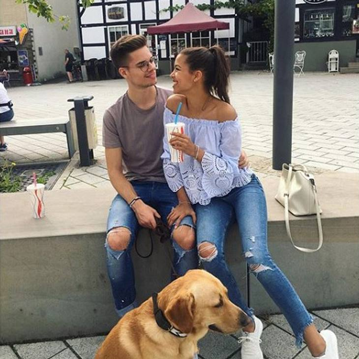 Julian Weigl macht Sarah Richmond glücklich