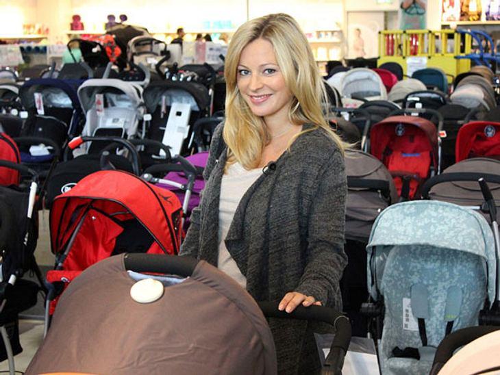 Sarah Stork wird im November Mutter