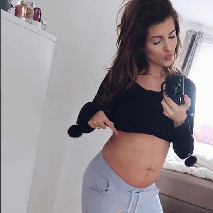 Nach nur 9 Tagen: Sarah Nowak präsentiert After-Baby-Body