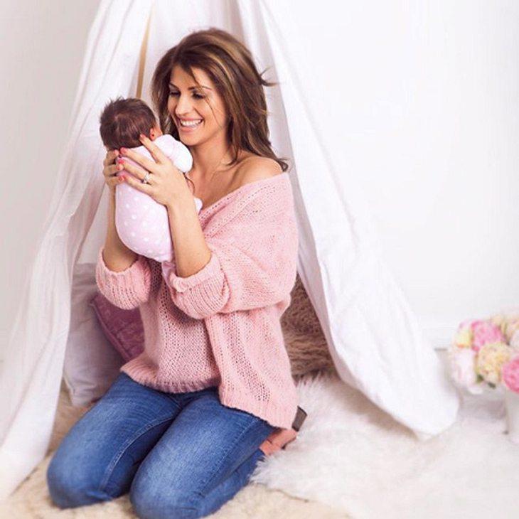Sarah Nowak: Shitstorm wegen Baby-Foto!