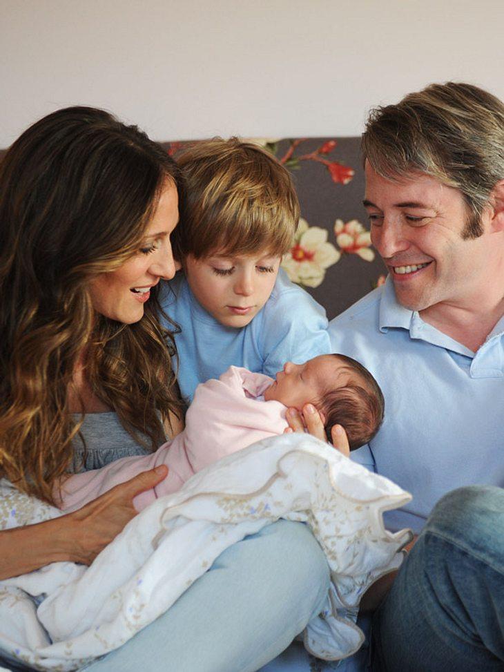 Sarah Jessica Parker und Matthew Broderick zeigen ihre süßen Zwillingsmädchen