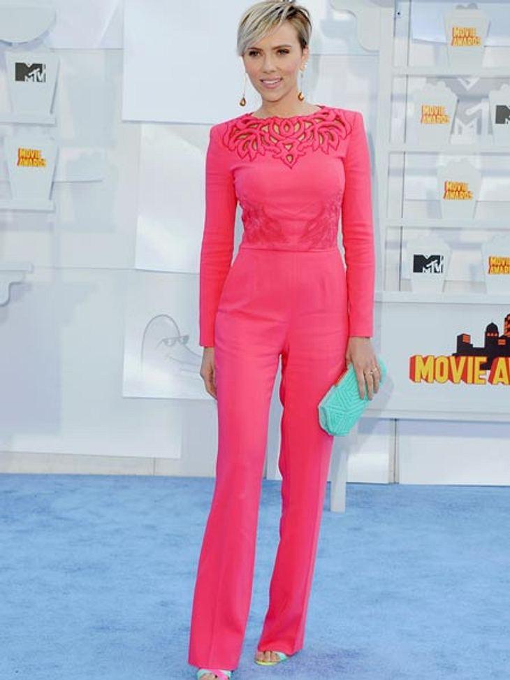 Scarlett Johansson ist wieder rank und schlank