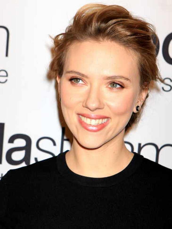 Scarlett Johansson schwärmte von ihrem Verlobten.