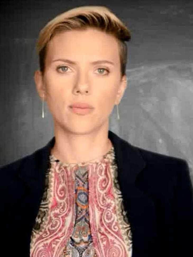 Scarlett Johansson: Kämpft gegen den Hunger!