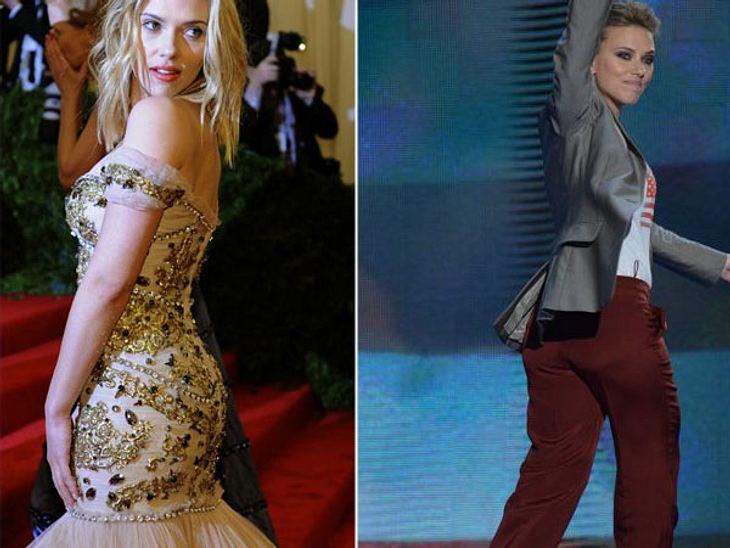 """Nie mehr Mager-Star! Mit Kurven seht Ihr besser ausMai 2012: 50 KiloOkay, wir können diese Aussage nachvollziehen. """"Jede Frau macht sich Sorgen um ihren Körper und ich bin keine Ausnahme"""", so Scarlett Johansson. Doch dass die &qu"""