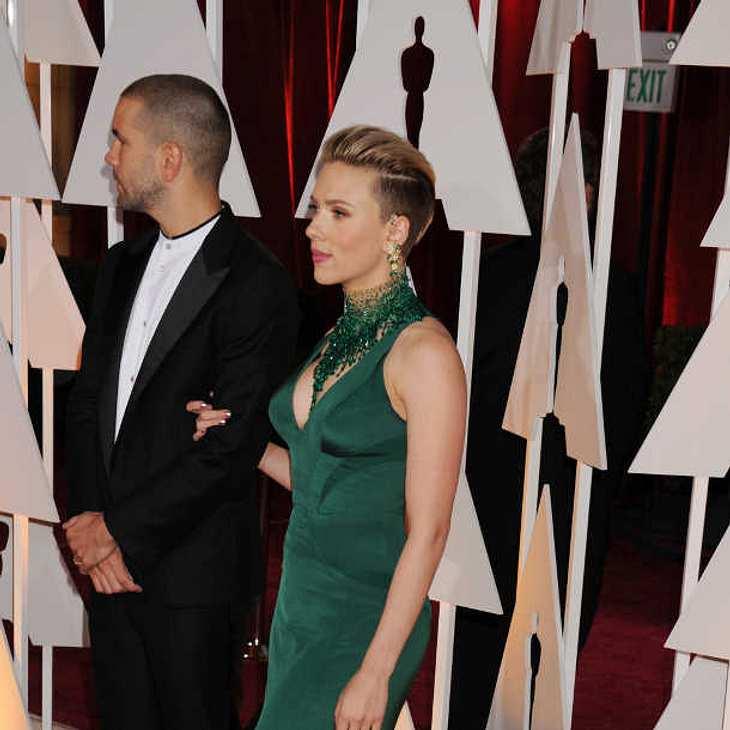 Scarlett Johansson & Romain Dauriac: Scheidung nach nur 2 Jahren Ehe?