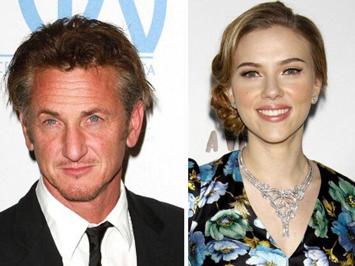 Sean Penn und Scarlett Johansson: Geht da was?
