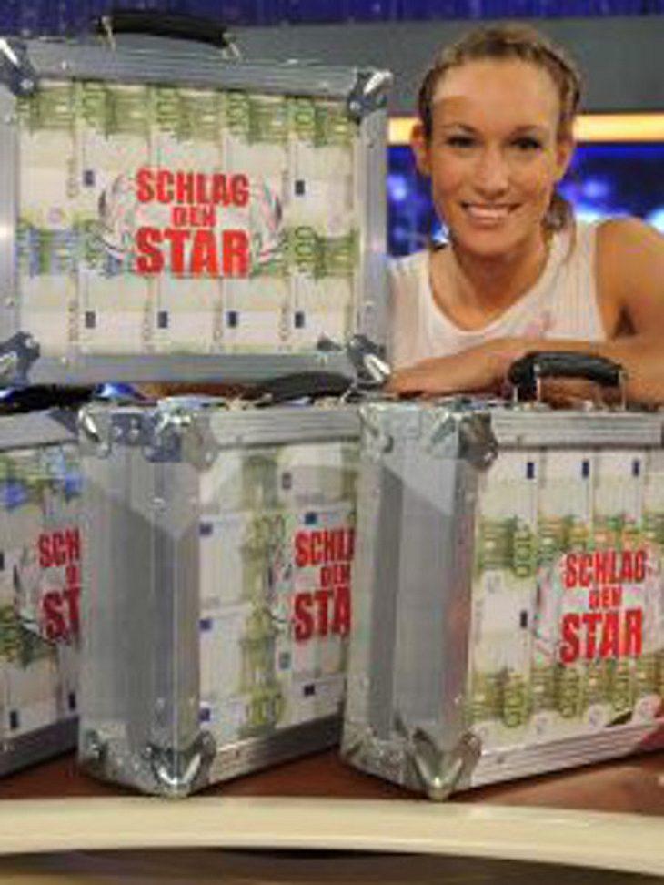 """Christine Theiss ist die Gewinnerin bei """"Schlag den Star"""""""