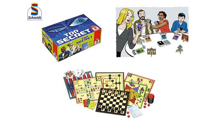 Gewinne 3 große Spiele-Pakete von Schmidt Spiele