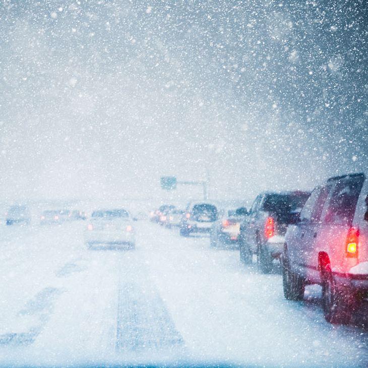 Kälte-Schock: Schnee und Graupel in Deutschland!