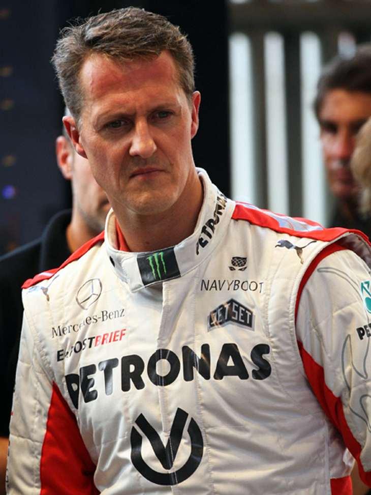 Michael Schumacher ist beim Skifahren schwer gestürzt