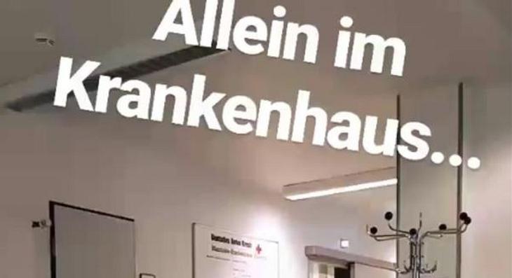 Nico Schwanz Krankenhaus Schock