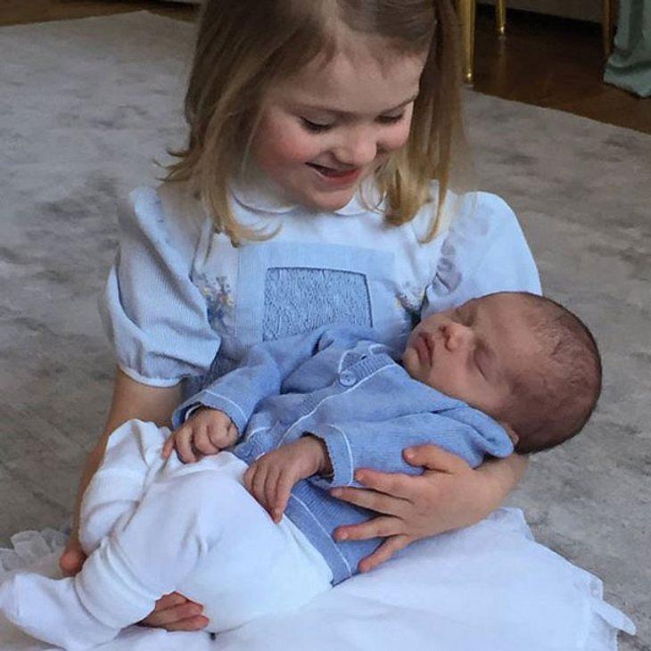 Prinzessin Estelle Baby Oscar Schweden