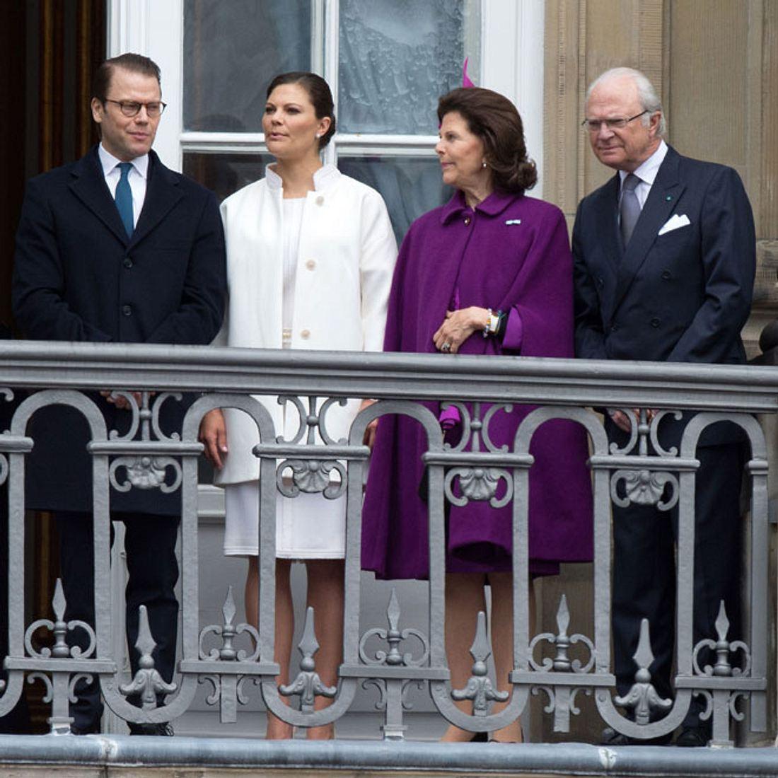 Die schwedische Königsfamilie in großer Trauer!
