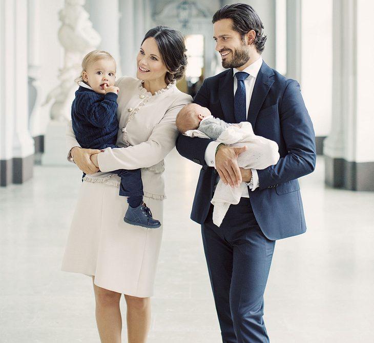 Das erste Familien-Foto der Schweden-Royals