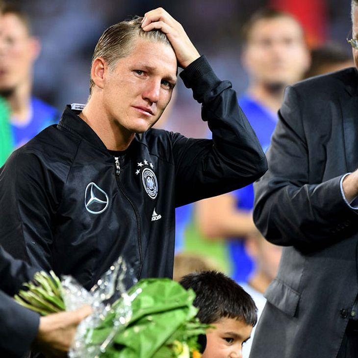 Bastian Schweinsteiger: So emotional war sein Abschied