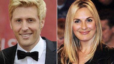 """Britt Hagedorn ist raus. Neuer Moderator von """"Schwer verliebt"""" ist Maxi Arland. - Foto: Imago / APress / Sven Simon"""