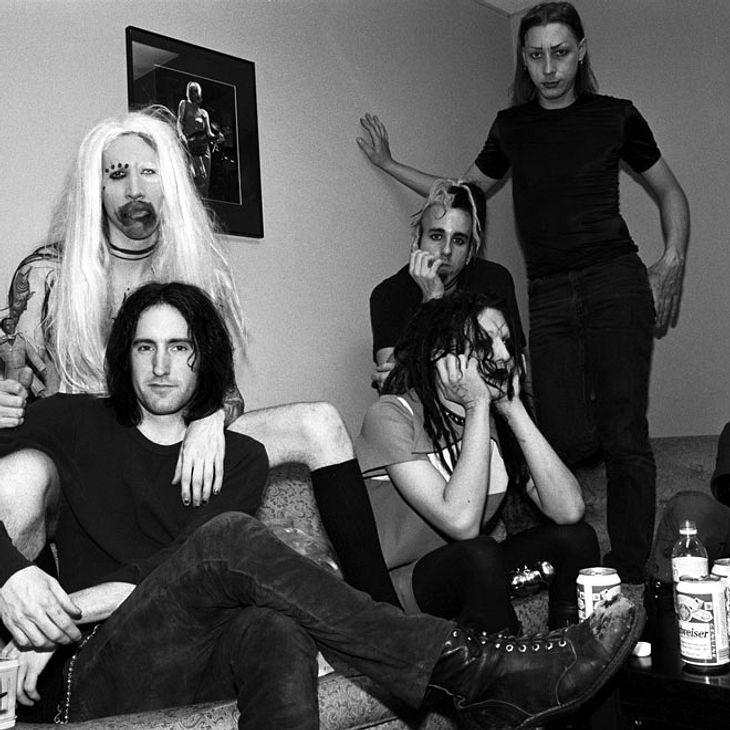 Rockstar Scott Putesky alias Daisy Berkowitz ist tot (rechts hinten)