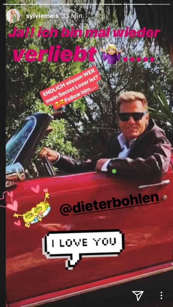 Sylvie Meis macht Dieter Bohlen eine Liebeserklärung