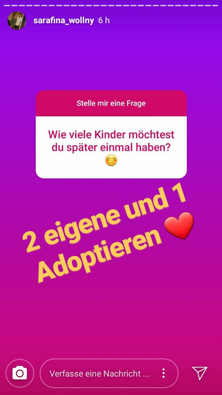 Sarafina Wollny und Peter Heck wollen ein Baby adoptieren!