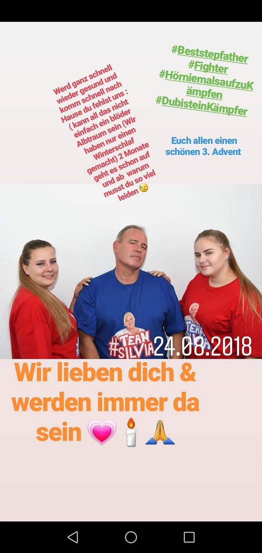 Sarafina Wollny: Emotionale Worte zu Stiefpapa Harald