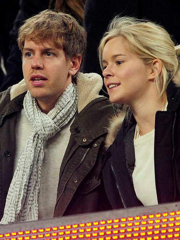 Sebastian Vettel und seine Freundin Hanna erwarten ihr zweites Kind