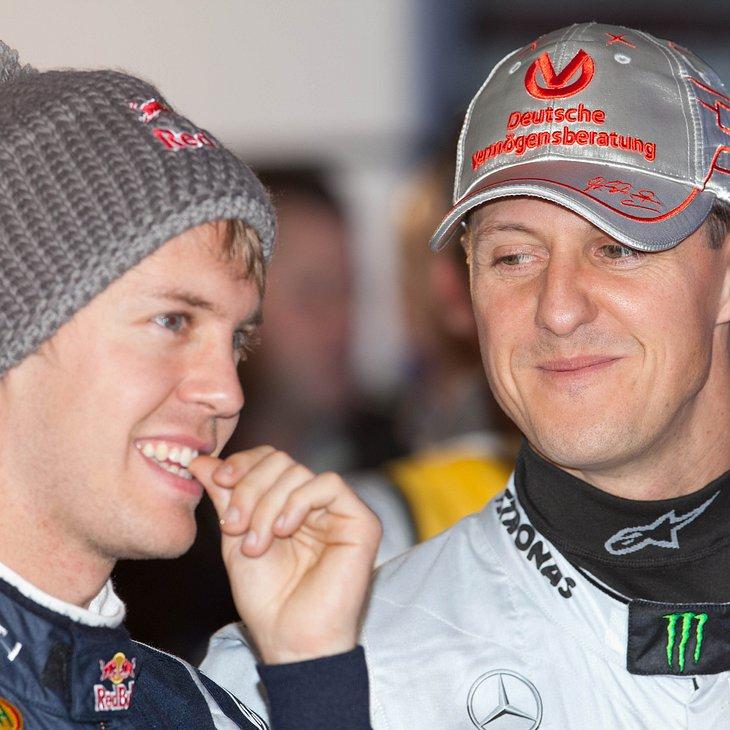 Michael Schumacher ist Sebastian Vettels großes Vorbild