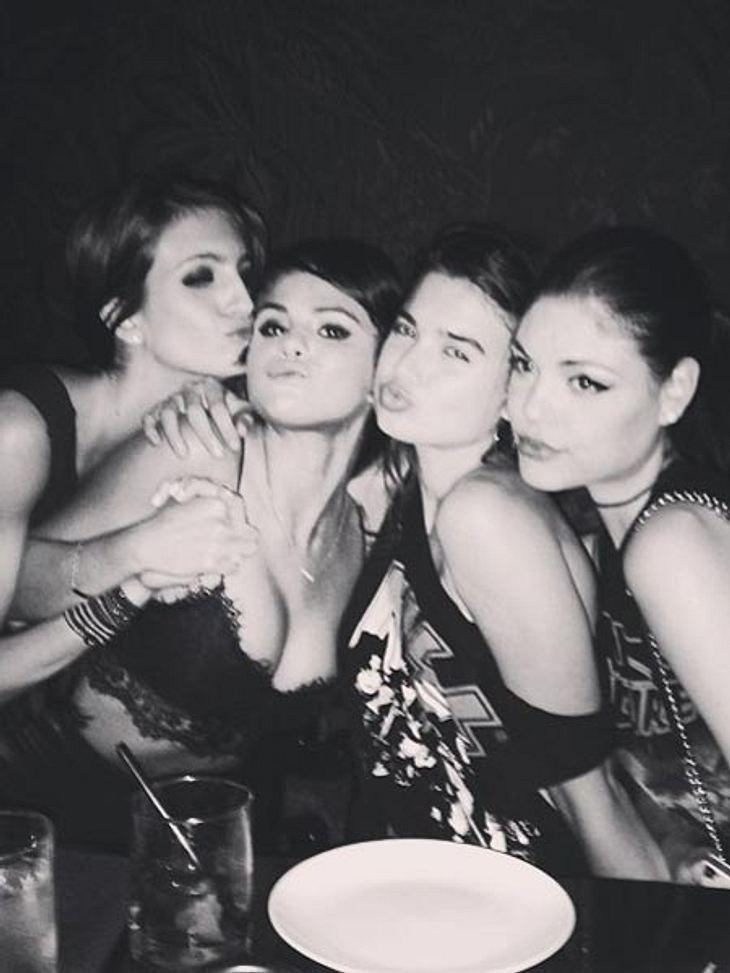 Selena Gomez lässt tief blicken