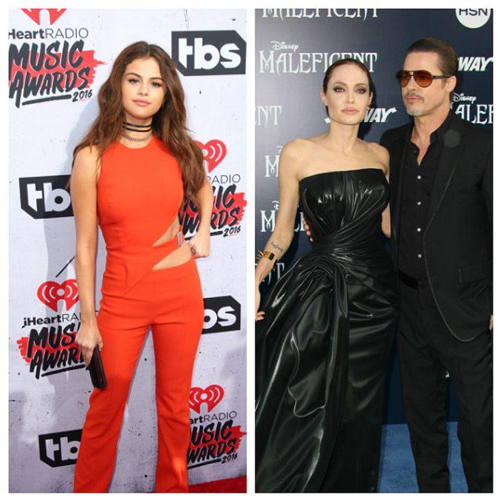 Selena Gomez machte Angelina Jolie mit ihren hemmungslosen Flirts ziemlich eifersüchtig