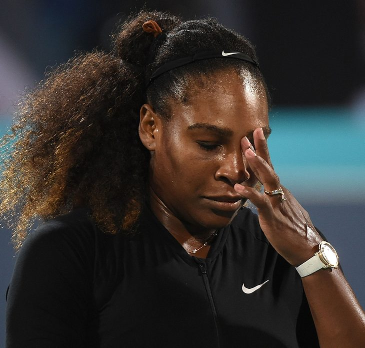 Serena Williams: Drama bei der Geburt