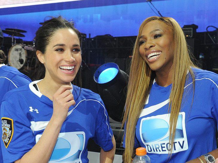 Meghan Markle und Serena Williams sind gute Freundinnen