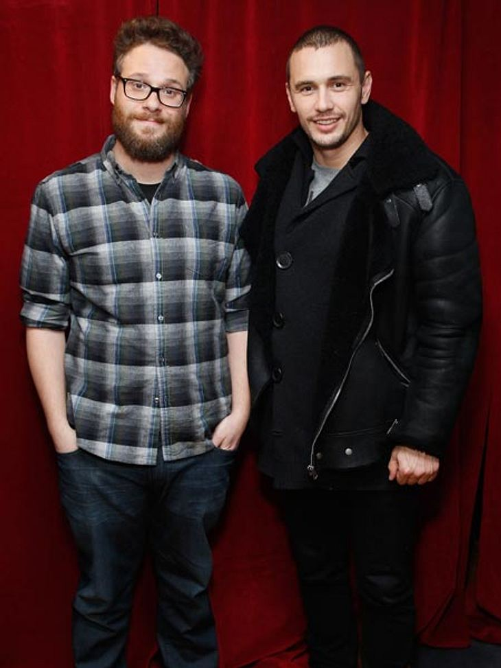 """Seth Rogen und James Franco spielen die Hauptrollen in """"The Interview"""""""