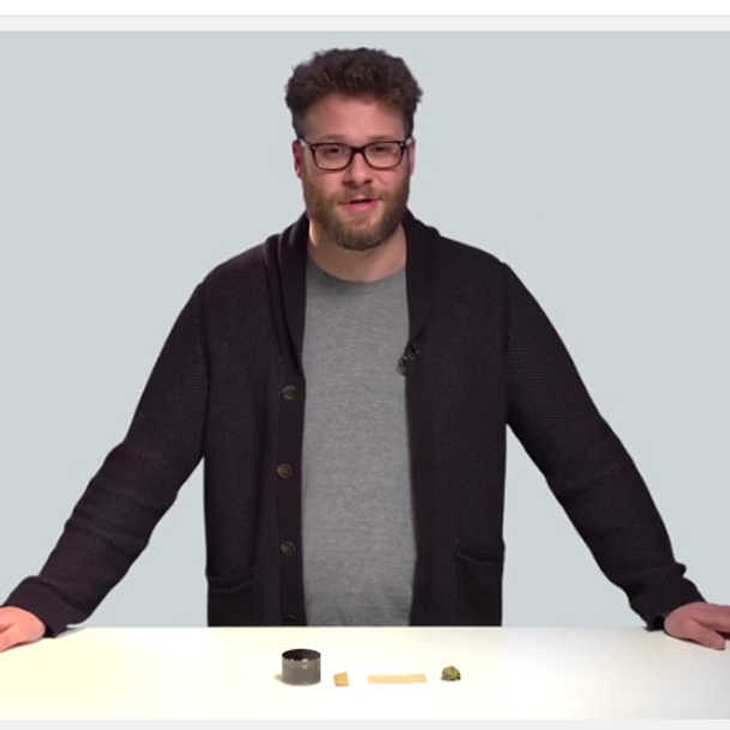 Seth Rogen Joint Tutorial