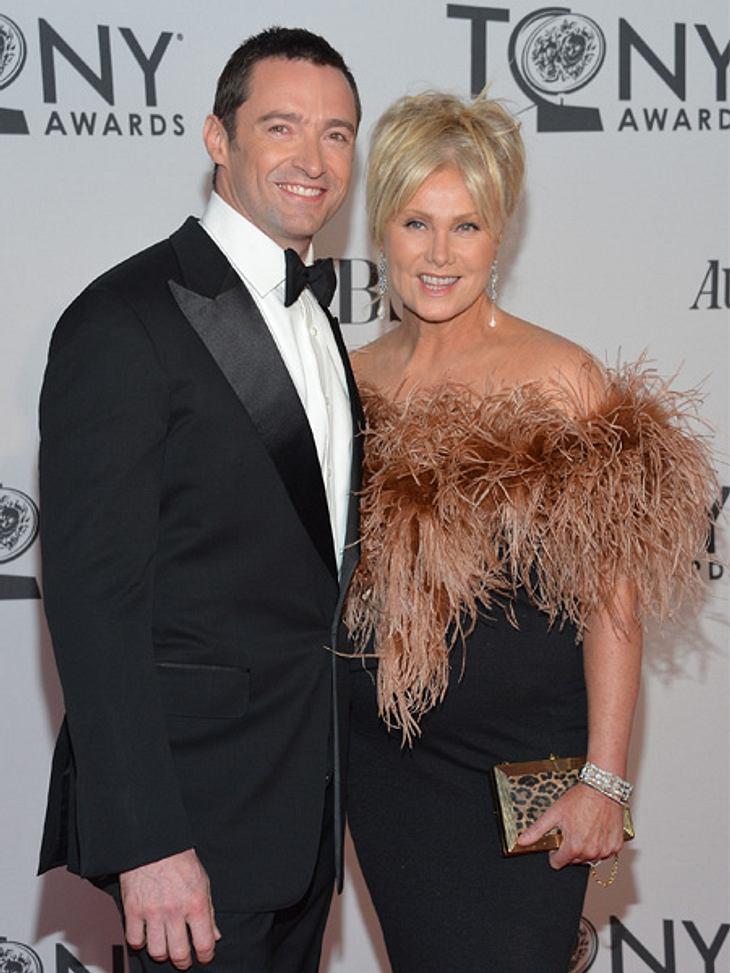 """Die Sextipps der Stars,Sextipp 1: Kostüme tragenEinige Stars scheinen darauf zu stehen, ihr Filmkostüm nach Drehschluss anzubehalten. So macht es beispielsweise """"Wolverine""""-Star Hugh Jackman (43). Seine Frau Deborra-Lee Furness (5"""