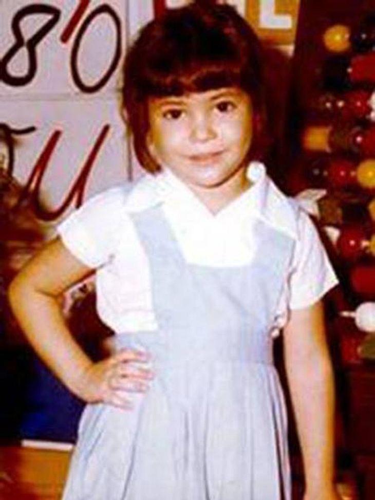 Shakira als kleines Mädchen