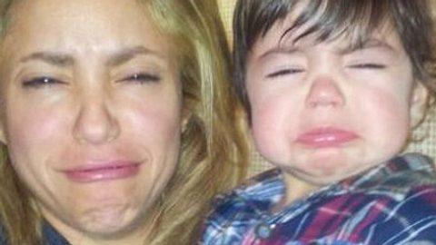 Shakira schmollt mit Sohn Milan um die Wette!