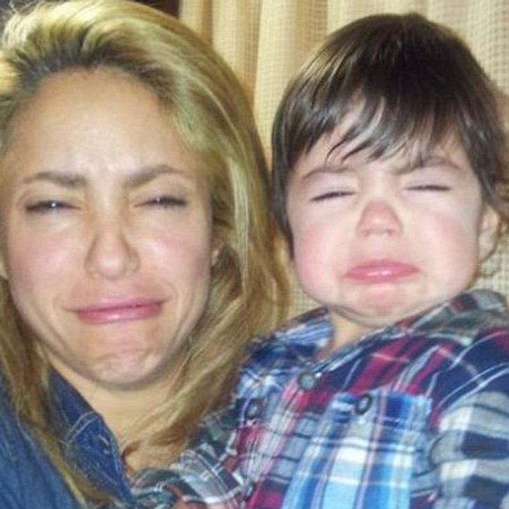Shakira und Milan schmollen um die Wette