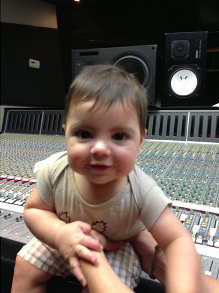 Shakira: Sohn Milan darf mit zur Arbeit