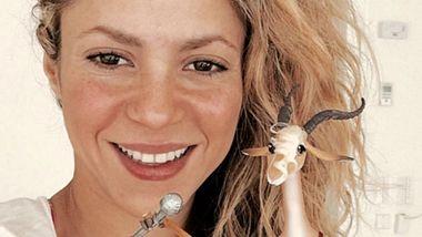 Shakira begeistert ohne Make-up