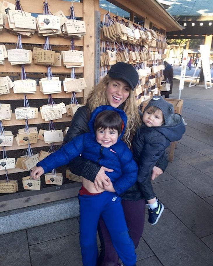 Shakira: So groß sind die Söhne der Sängerin schon
