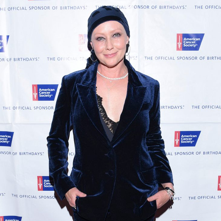 Shannen Doherty hat ihre Chemotherapie überstanden