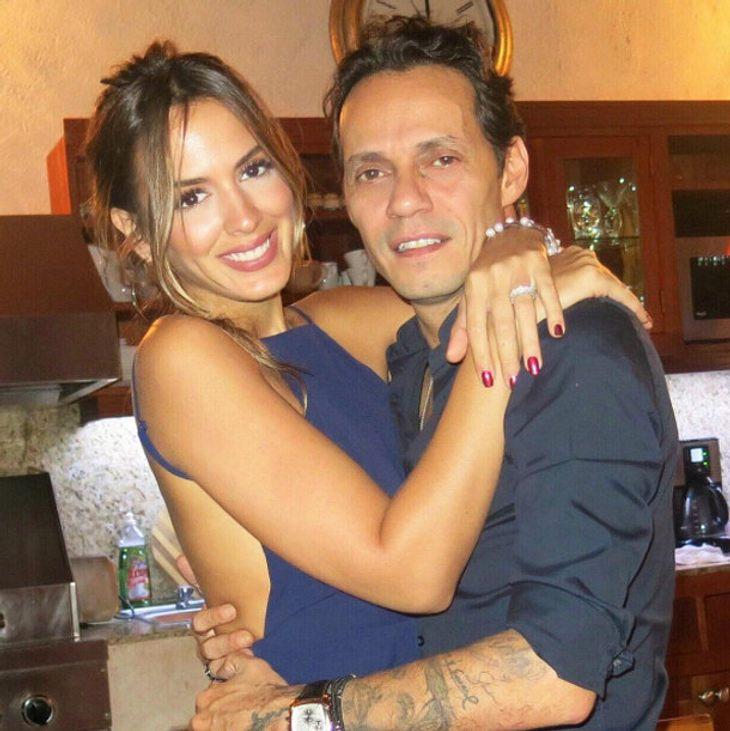 Shannon de Lima und Marc Anthony sind seit zwei Jahren verheiratet