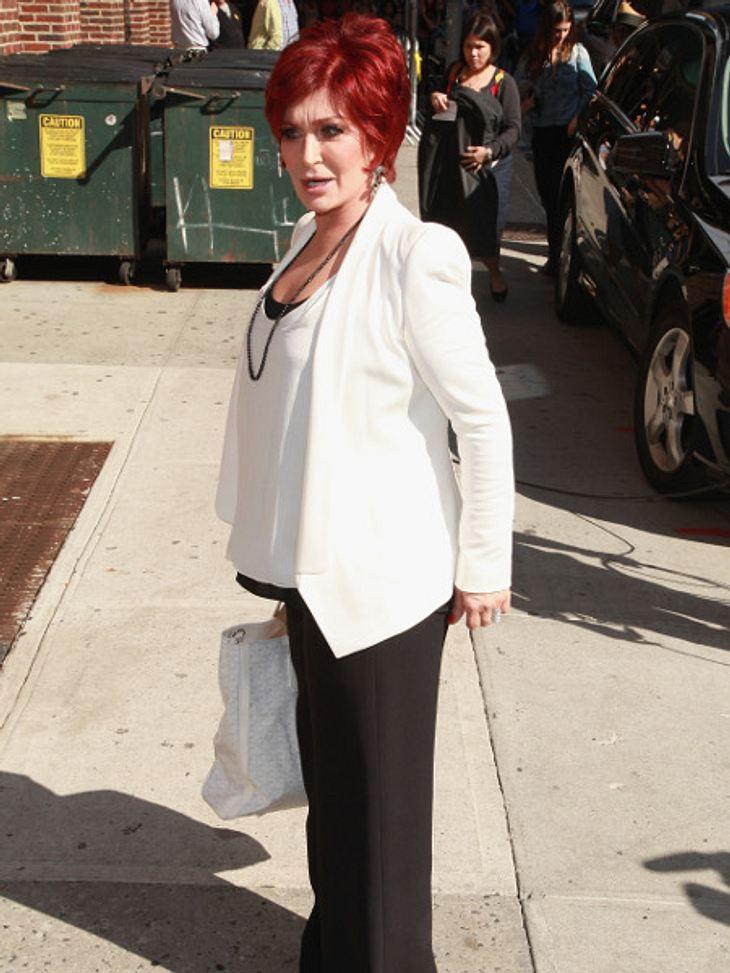 Sharon Osbourne rief die Polizei wegen eines Feuers.
