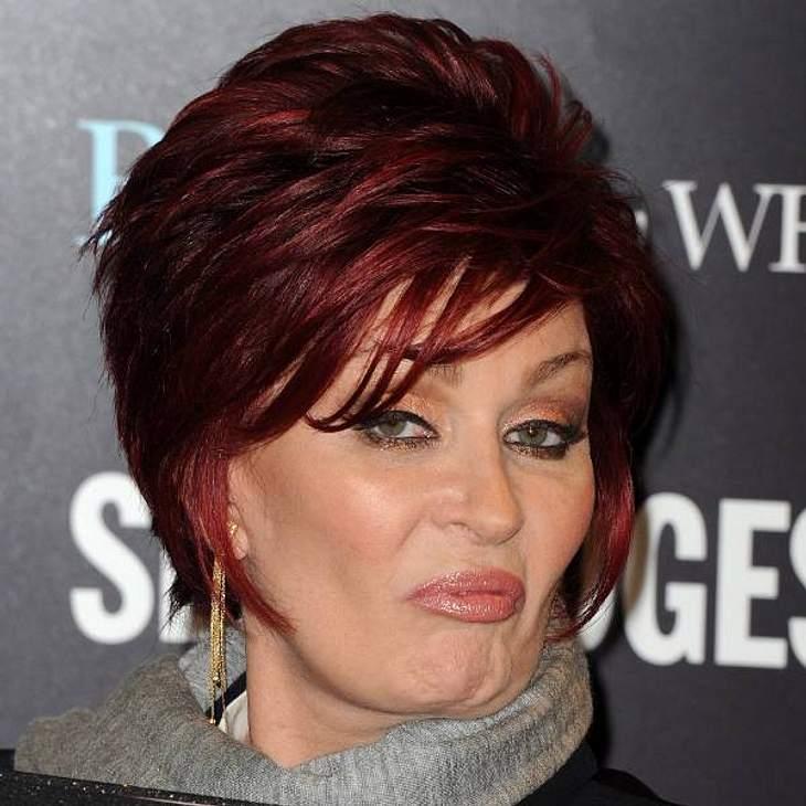 VIP-Grimassen: Einmal komisch gucken, bitte!Diva  Sharon Osbourne weiß genau, was sie will: Das was sie hier angeboten bekommen hat, ist es garantiert nicht.