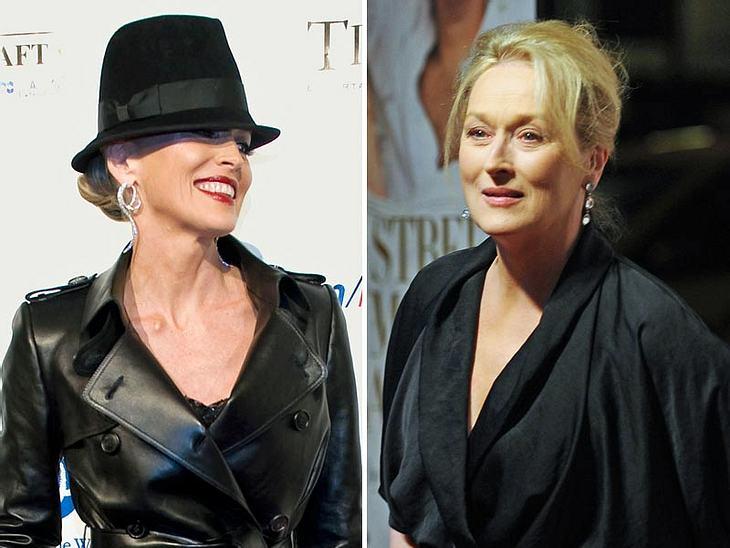 Sharon Stone hat es nicht so mit der Diplomatie. Jetzt dürfte sie Meryl Streep verprellt haben...